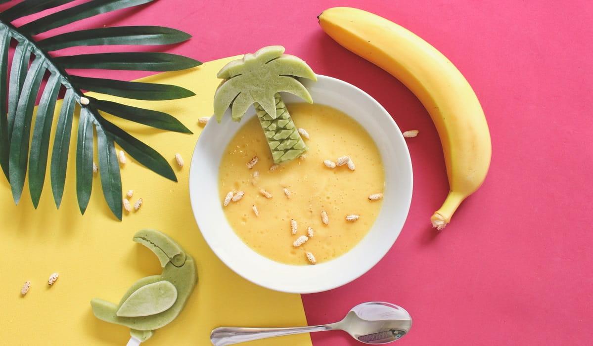 Come fare il gelato alla banana