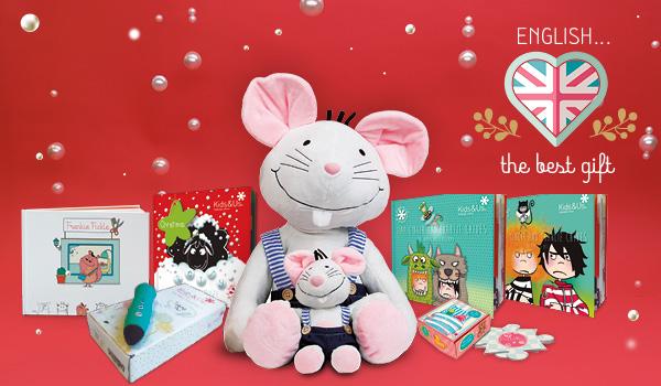 Natale 2020: idee regalo per far imparare l'inglese ai bambini di ogni età
