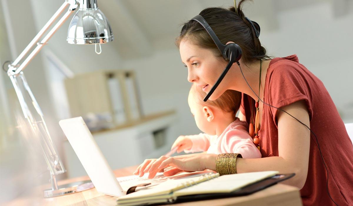 Lavorare da casa con i bambini: guida di sopravvivenza