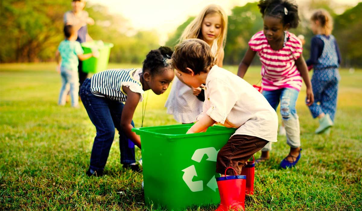 Come prendersi cura dell'ambiente: 10 proposte per i più piccoli