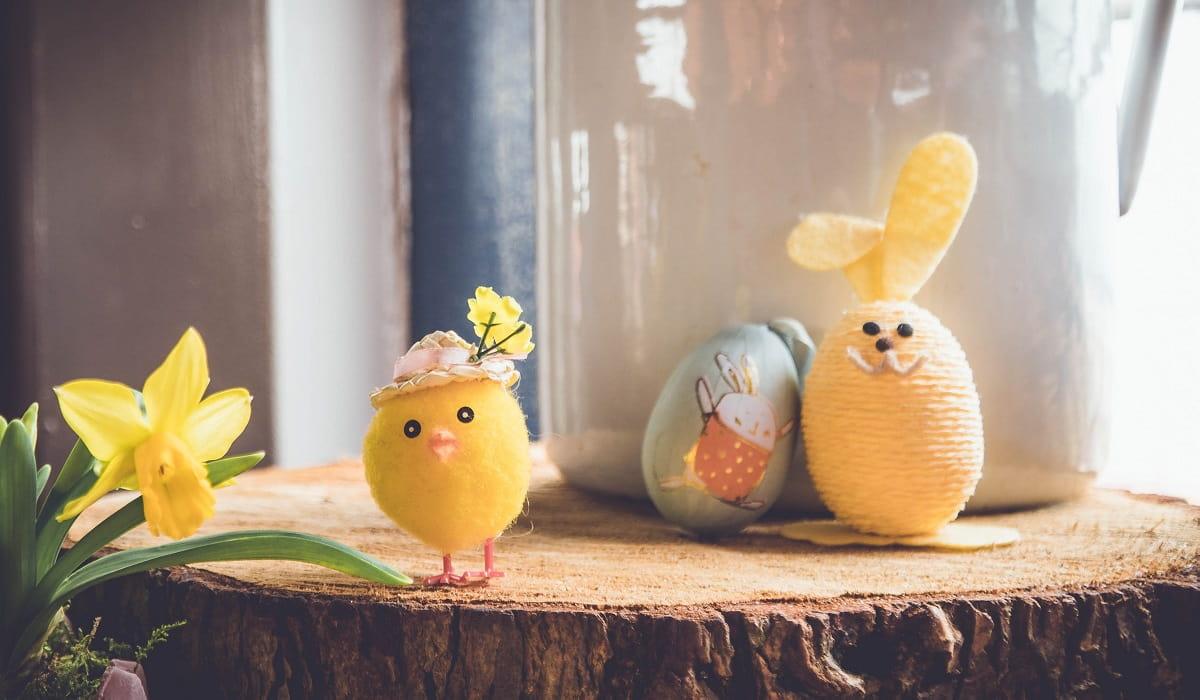 Lavoretti con le uova di Pasqua per divertirsi con i bambini